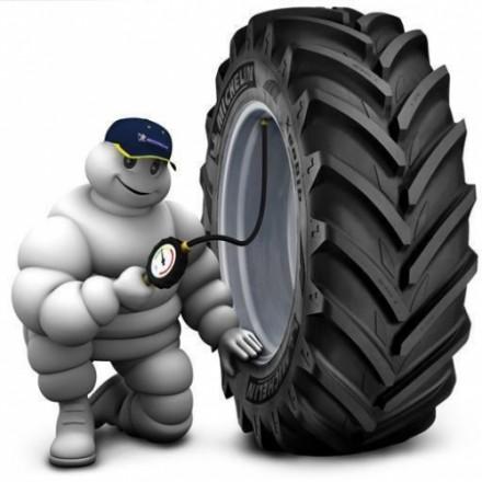 Шины для строительной техники от Michelin.
